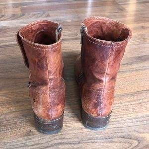 Frye Shoes - *GREAT DEAL* Frye Lynn Military Boots Sz 7.5 Brown